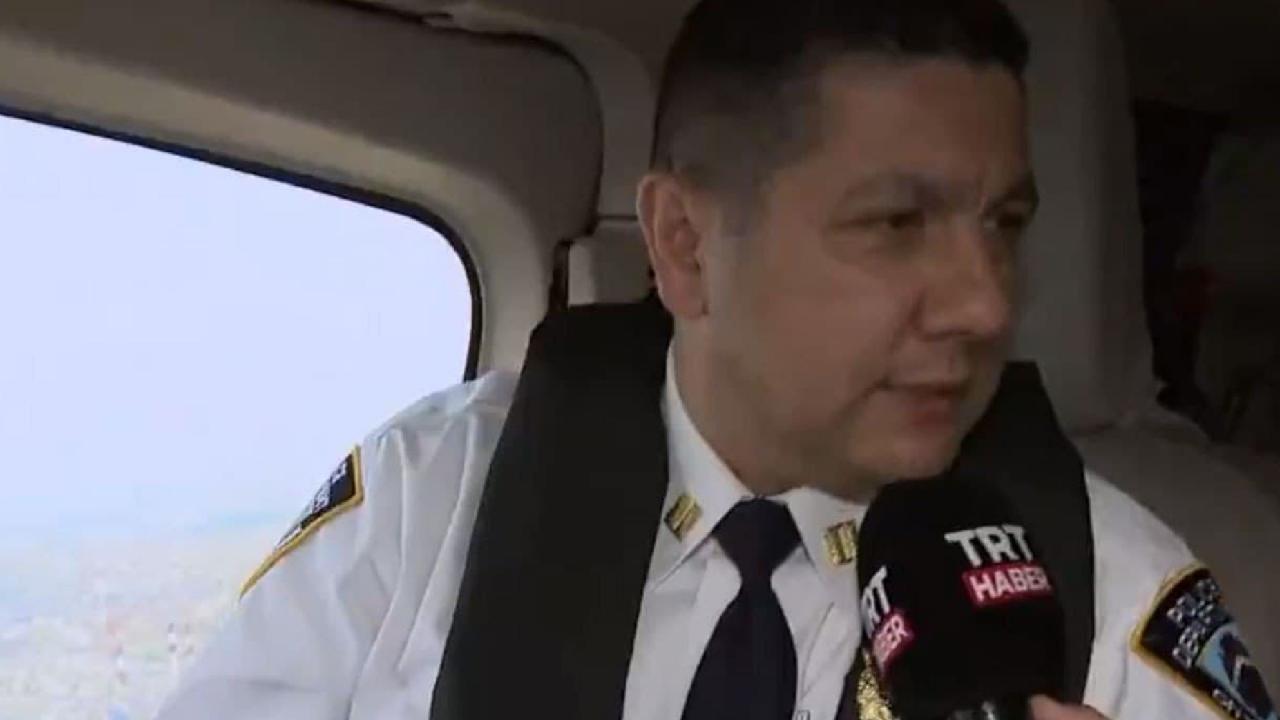 TRT Haber Türk Müdür ile New York semalarında