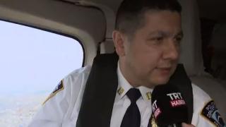 TRT Haber Türk Emniyet Müdürü ile New York semalarında
