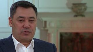 Kırgızistan Cumhurbaşkanı Sadır Caparov TRT'de
