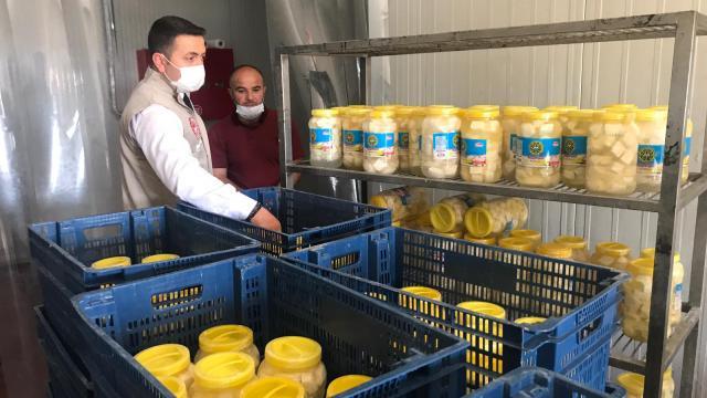 Gaziantepte tam kapanmadan etkilenen üreticinin sütleri değerlendiriliyor