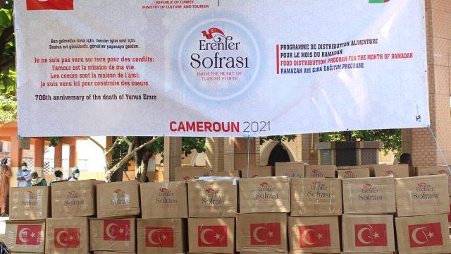 TİKA, Kamerundaki ihtiyaç sahibi ailelere ramazan yardımı yaptı