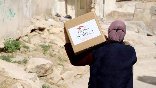 TİKA Ürdünde ihtiyaç sahiplerine Ramazan yardımına başladı