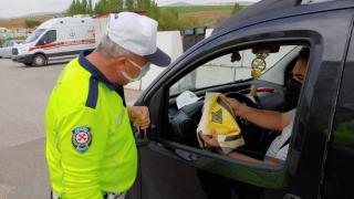 Trafik Haftası dolayısıyla Kırşehir'de sürücüler bilgilendirildi