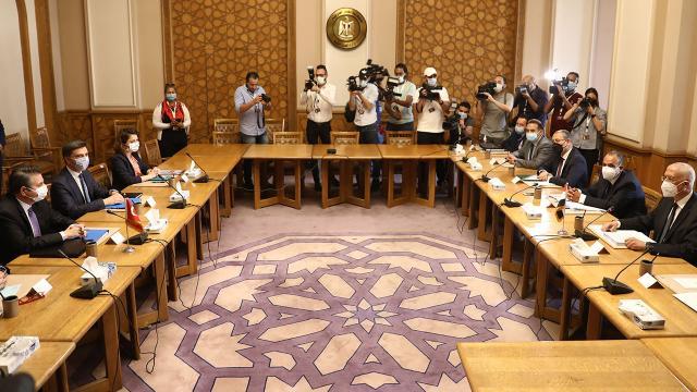 Dışişlerinden Mısır açıklaması: Görüşmeler samimi havada gerçekleşti