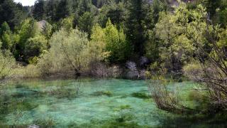 Kahramanmaraş'taki turkuaz göl turizme kazandırılacak