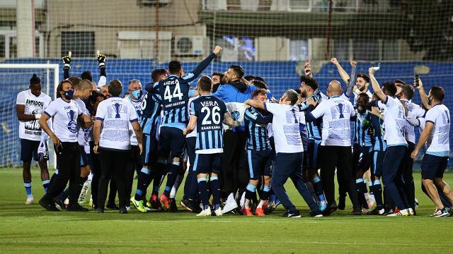 Adana Demirspor Süper Lig hasretine son verdi
