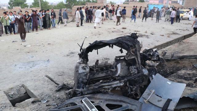 Kabildeki bombalı saldırıda can kaybı 50ye çıktı