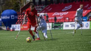 Türkiye-Polonya ampute futbol hazırlık maçı