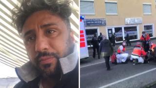 Almanya'da kızının yardımına koşan Türk babaya polis şiddeti