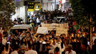 Batı Şeria'da binlerce kişi Kudüs'e destek için toplandı