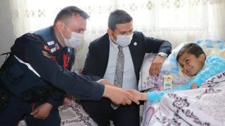 Jandarma Astsubay Özcan kayıp otizmli çocuğu bulduğu anı anlattı