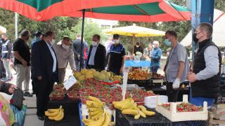 Osmaneli Kaymakamı Ünal, pazar yerlerini denetledi