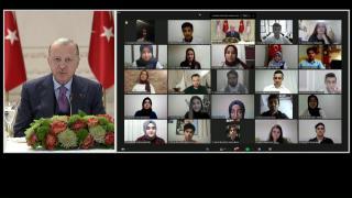 Cumhurbaşkanı Erdoğan 81 ilden gençlerle buluştu