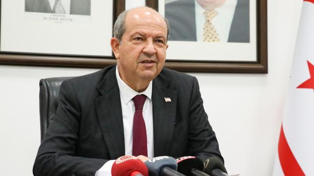 KKTC Cumhurbaşkanı Tatar: Adada federasyon defteri kapandı