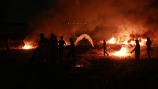 İsrail'in Kudüs'teki saldırıları Gazze'de protesto edildi