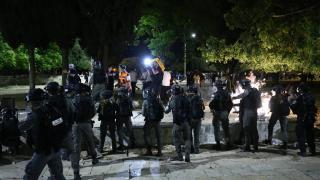 İsrail'in Mescid-i Aksa'ya saldırısına tepki