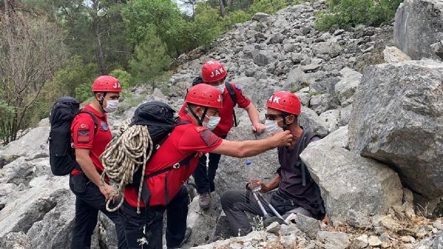 Antalyada kaybolan İtalyan turisti jandarma buldu