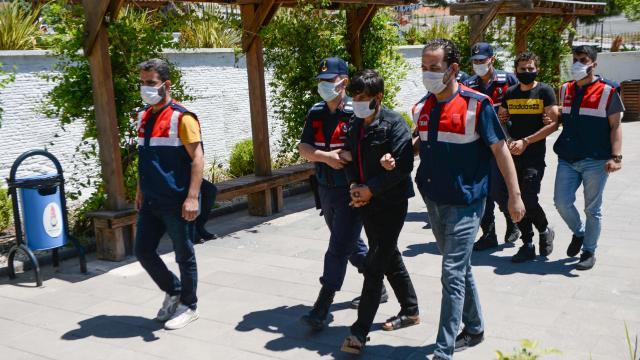 Kahramanmaraşta DEAŞ operasyonunda 2 şüpheli yakalandı