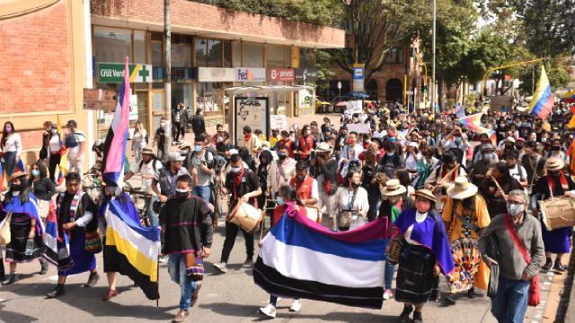 Kolombiyada hükümet karşıtı protestoların 10uncu günü