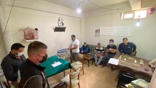 Tekirdağ'da depoyu kahvehaneye çeviren 7 kişiye ceza