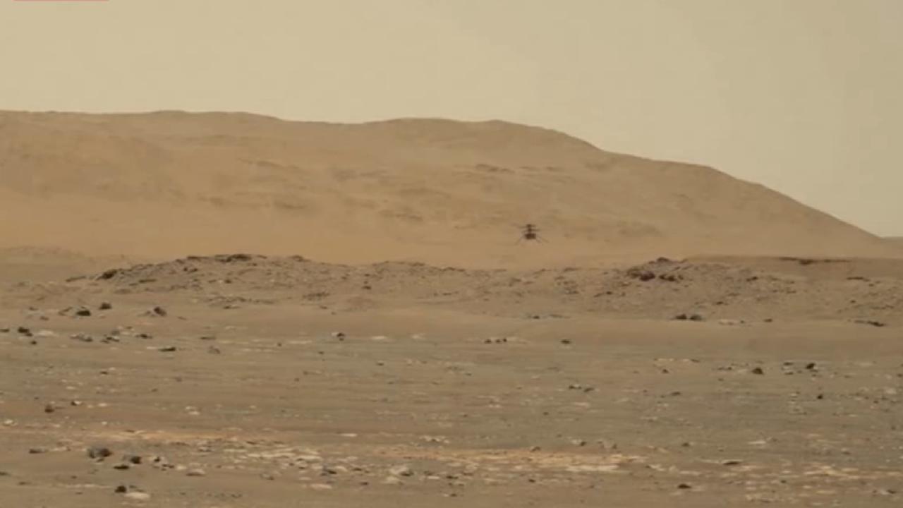 NASA, Mars helikopterinin sesini paylaştı