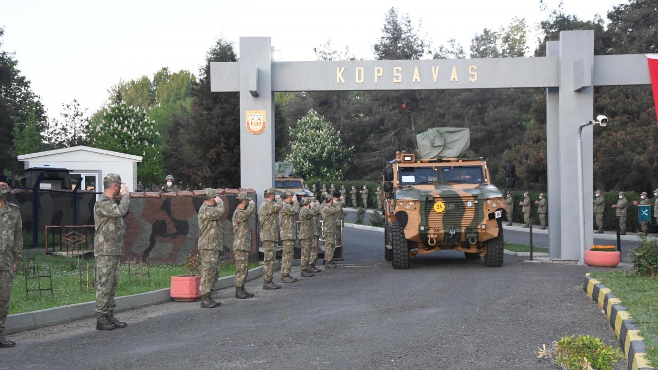 NATO tatbikatına katılacak Mehmetçik yola çıktı