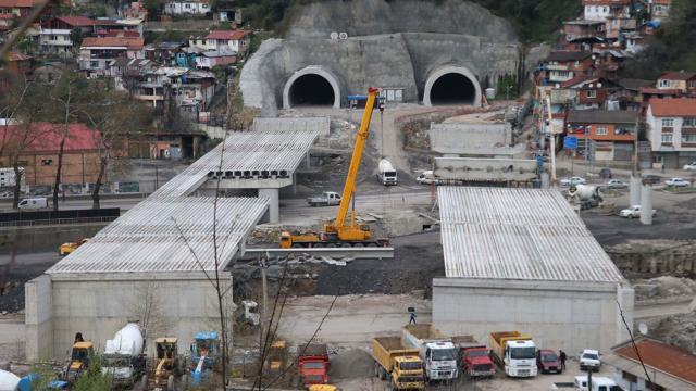 Mithatpaşa tünellerinin yapımında sona yaklaşıldı
