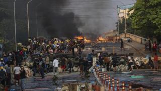 Myanmar'daki darbe karşı gösterilerde can kaybı 780 oldu