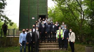 Bakan Pakdemirli, Kuşcenneti Milli Parkı'nı ziyaret etti