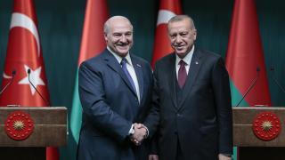 Cumhurbaşkanı Erdoğan Belaruslu mevkidaşı ile görüştü