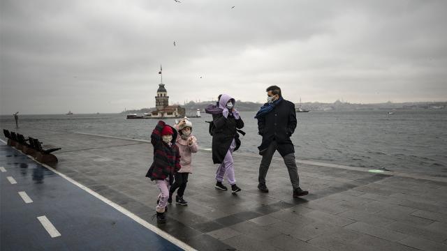 Marmarada sıcaklıklar 1 ila 3 derece azalacak