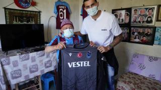 Trabzonspor taraftarı Ahmet dedenin hayali gerçekleşti
