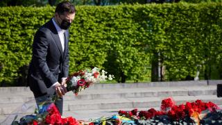 Ukrayna'da Nazizm'e karşı zaferin kahramanları anıldı
