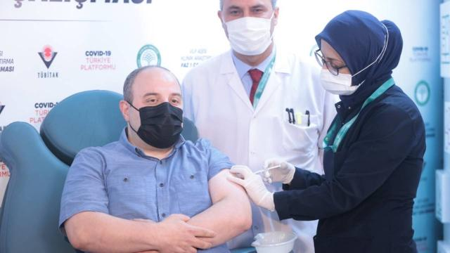 Bakan Varanka 2. doz yerli aşı