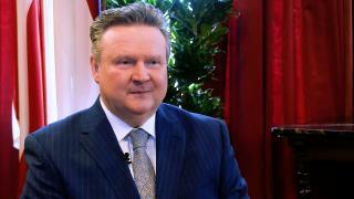 Viyana Eyalet ve Belediye Başkanı Dr. Michael Ludwig TRT Almancaya konuk oldu