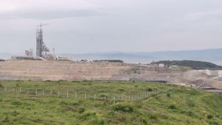 Kocaeli'de çimento fabrikasında yangın çıktı