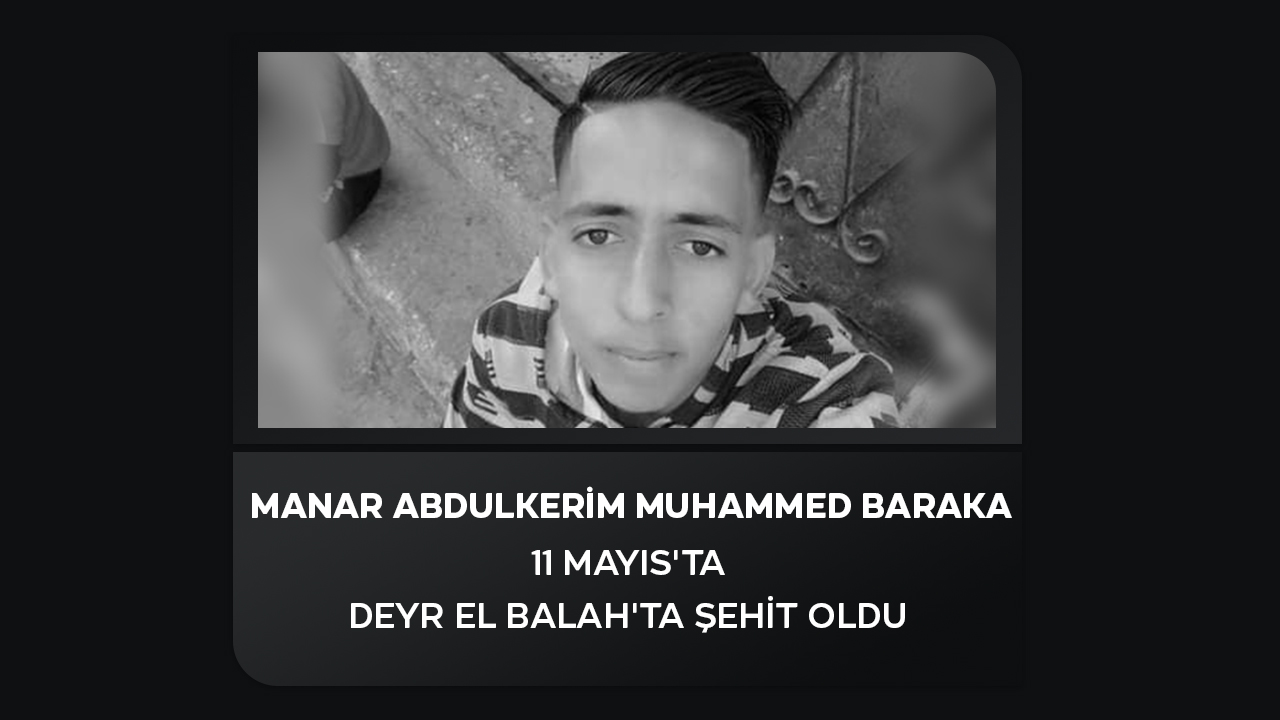 Manar Abdulkerim Muhammed Baraka