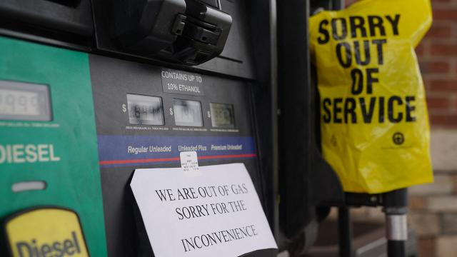 ABDnin güneydoğu eyaletlerinde benzin sıkıntısı