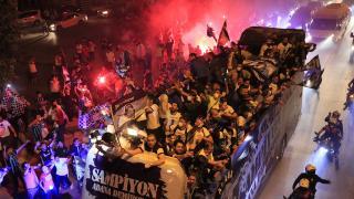 Bakan Soylu: Şampiyonluk kutlamaları kapanmadan sonra yapılmalı