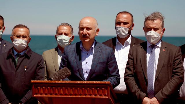 Bakan Karaismailoğlu: Taş ocağının çevresel etkileri sürekli kontrol edilecek