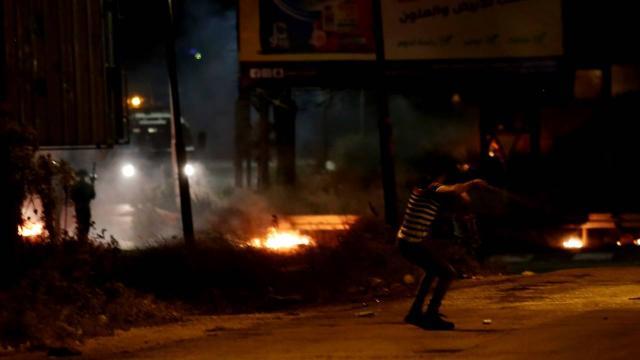 İsrail askerlerinden Batı Şeriadaki protestoya müdahale: 13 yaralı