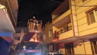 Bursa'da yangın: 2 kişi dumandan etkilendi