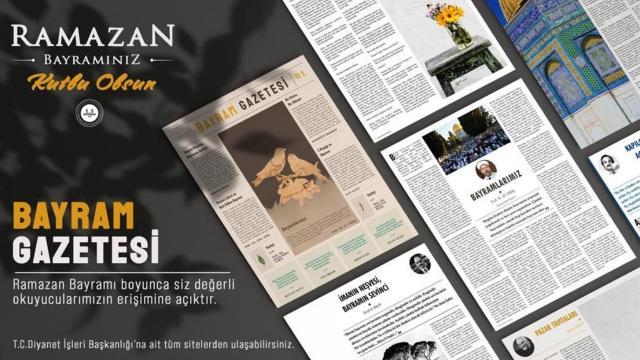 Diyanet Bayram Gazetesi yayın hayatına başladı