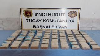 Van'da 21 kilogram uyuşturucu ele geçirildi