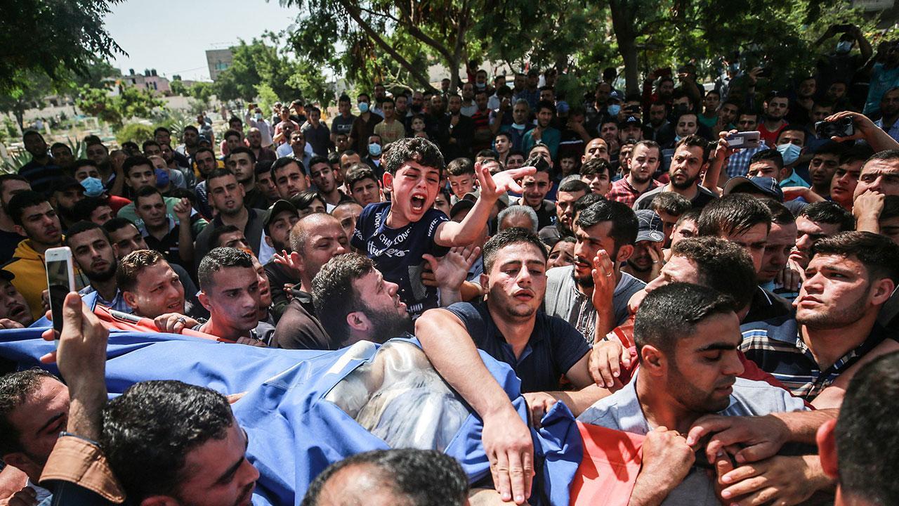 Filistinli Bera'dan babasına yürek yakan veda