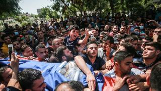 Filistinli Bera'nın vedası insanlığın vicdanına kazındı...