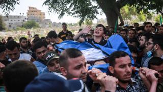 İsrail zulmünü Bera'nın babasına vedası anlattı