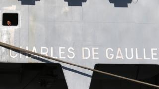 Fransız uçak gemisi Charles de Gaulle, Limasol Limanı'na demirledi