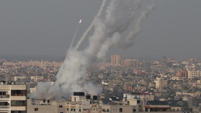 Gazze Şeridinden 6 roket atıldı