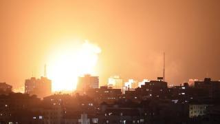 İsrail'in hava saldırısında 24 Filistinli hayatını kaybetti